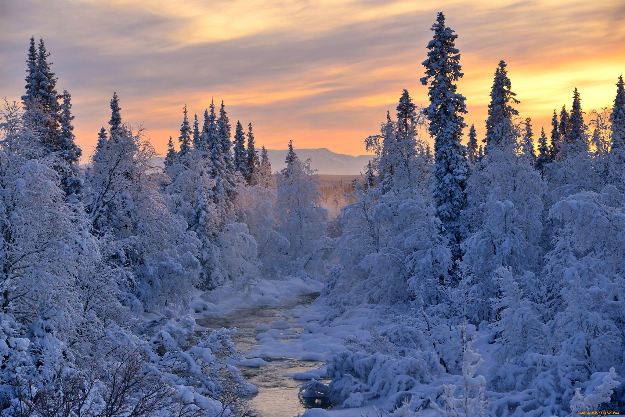 Красивая зима россии фото взяла